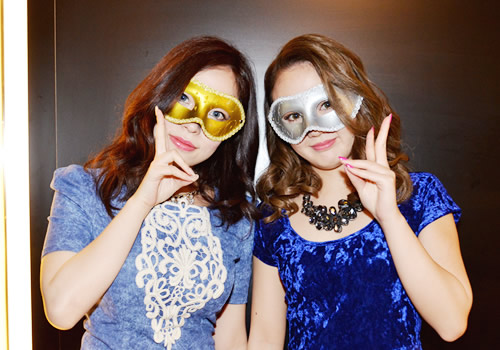 ドレスアップパーティーがプロデュースする大人気企画「仮面THEナイト」